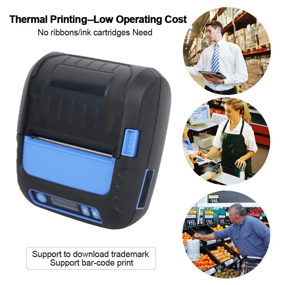 RD-G50 G80 термикалық жапсырма принтері - Кеңсе электроника - фото 2