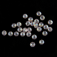 Special Rondelle Beads 2 3 4 6 8mm Pretty Crystals Round Loose Spacer Beads Pink AB Color Glass Pearls For Jewellery Making