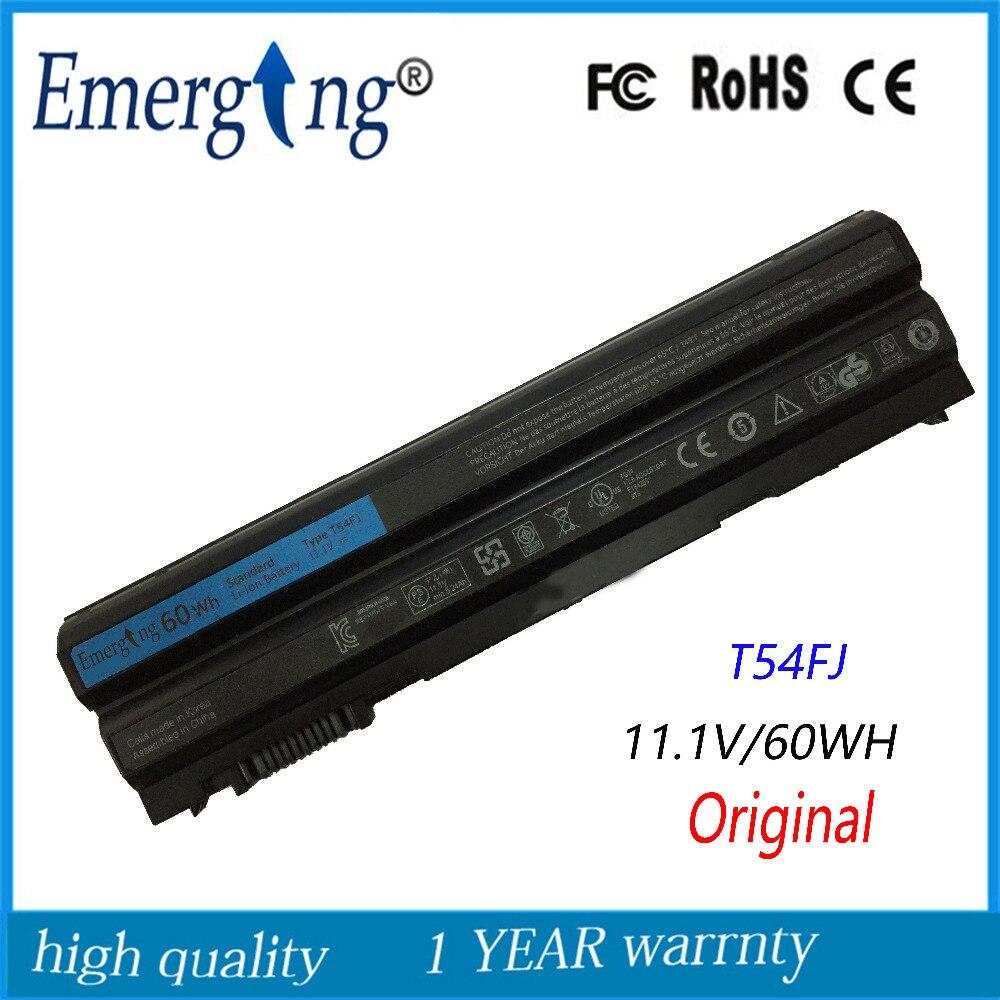 60WH D'origine Nouveau Corée Cellulaire Batterie D'ordinateur Portable pour Dell Latitude E6420 E6430 E6520 E6530 E5420 E5430 E5520 E5530 N3X1D T54FJ