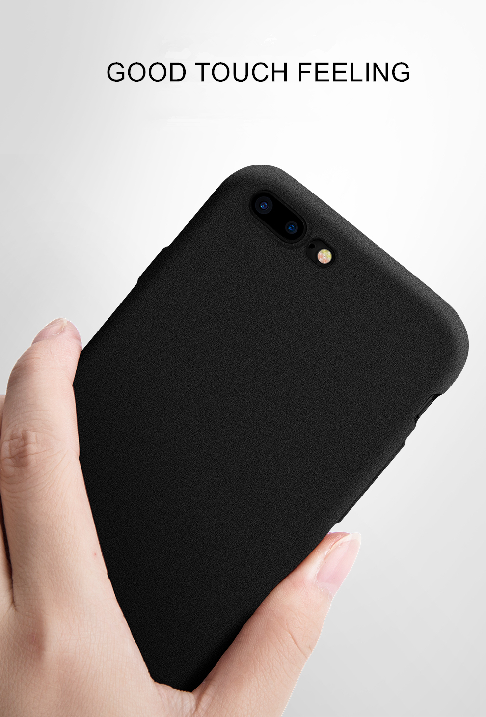 half off 4500d c705a Ultrathin Sandstone Matte Scrub Soft TPU Phone Back Cover Iphone X 8 7 6 6S  7 Plus 6 Plus 6S Plus Fundas