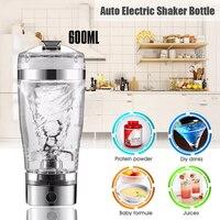 Tragbare Vortex Elektrische Protein Shaker Mixer Flasche Abnehmbarem Cup