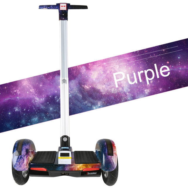 Hoverboard 10 inch Electric Scooter self Balancing scooter Smart two wheel skateboard With Handle Bluetooth Speaker Girscooter