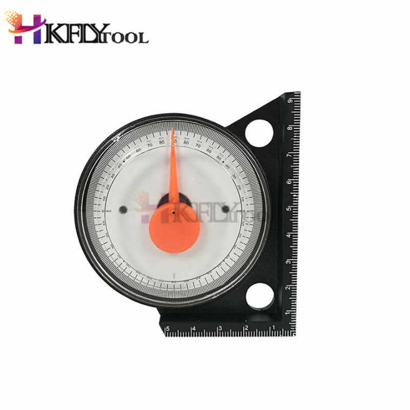 Mini Inclinometer Protractor Tilt Level Meter Angle Finder