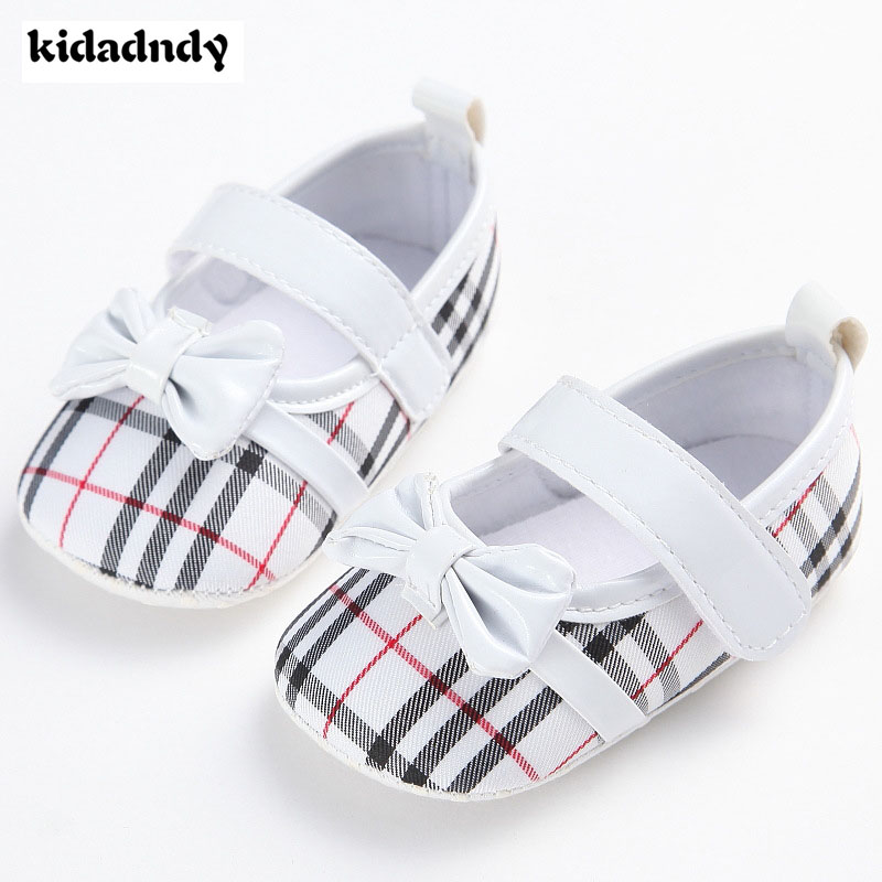 6 colors Baby Shoes Newborn Soft Bottom Summer Girls Baby Toddler Shoes Soft Bottom Leather Bow Cute Princess Baby Shoes YD447