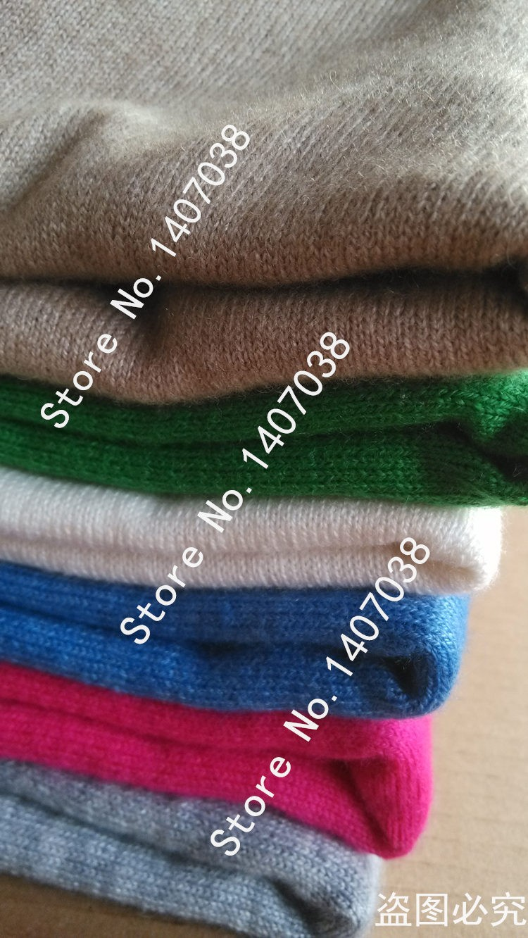 19 Spring autumn cashmere sweaters women fashion sexy v-neck sweater loose 100% wool sweater batwing sleeve plus size pullover 21
