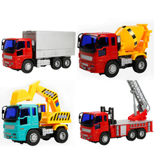 Large Inertial Truck Model Toy Cars Gifts for New Year/Kids Toys for Boys/Hot Wheels Track Toys for Children 1:18