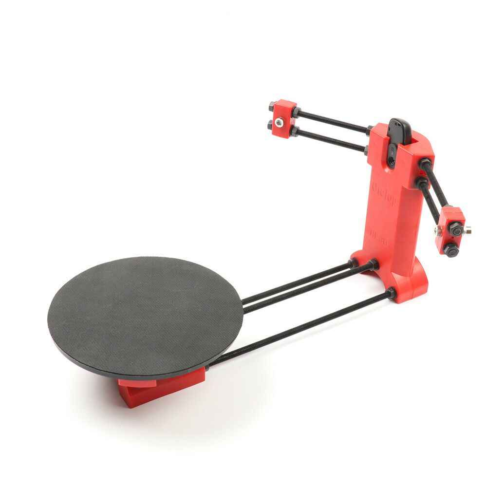 HE3D ciclop laser Open source DIY 3d scanner kit,new red injection molding parts,for 3d printer