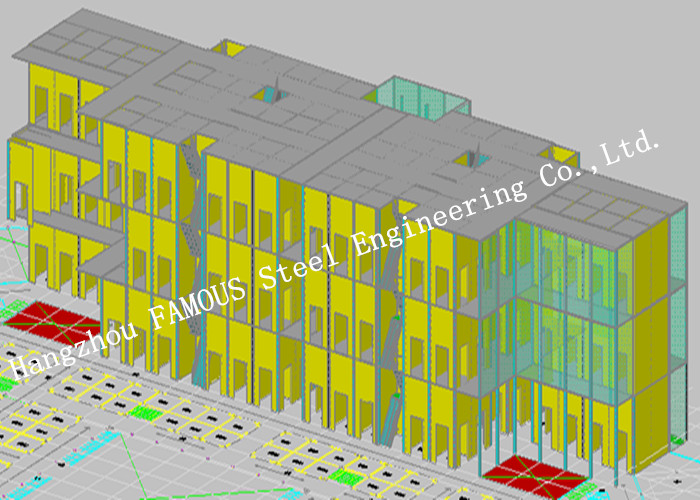 High Storey Steel Structure Building Architectural And Structural Engineering Designs Specialists