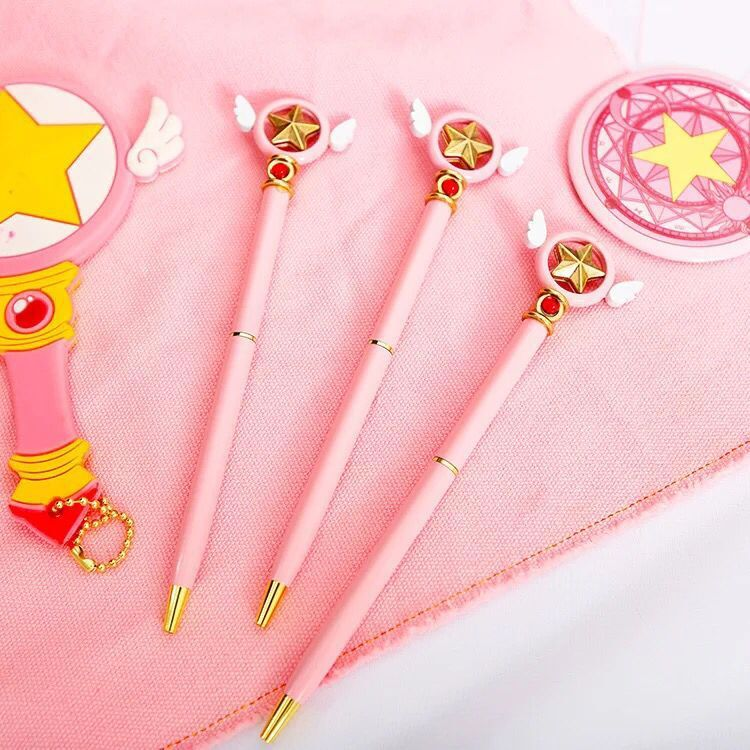 Costume Props Anime Card Captor Sakura Cosplay Prop Abs Magic Wand Beauty Gift Cosplay Prop Women Gift Drop Ship Costumes & Accessories