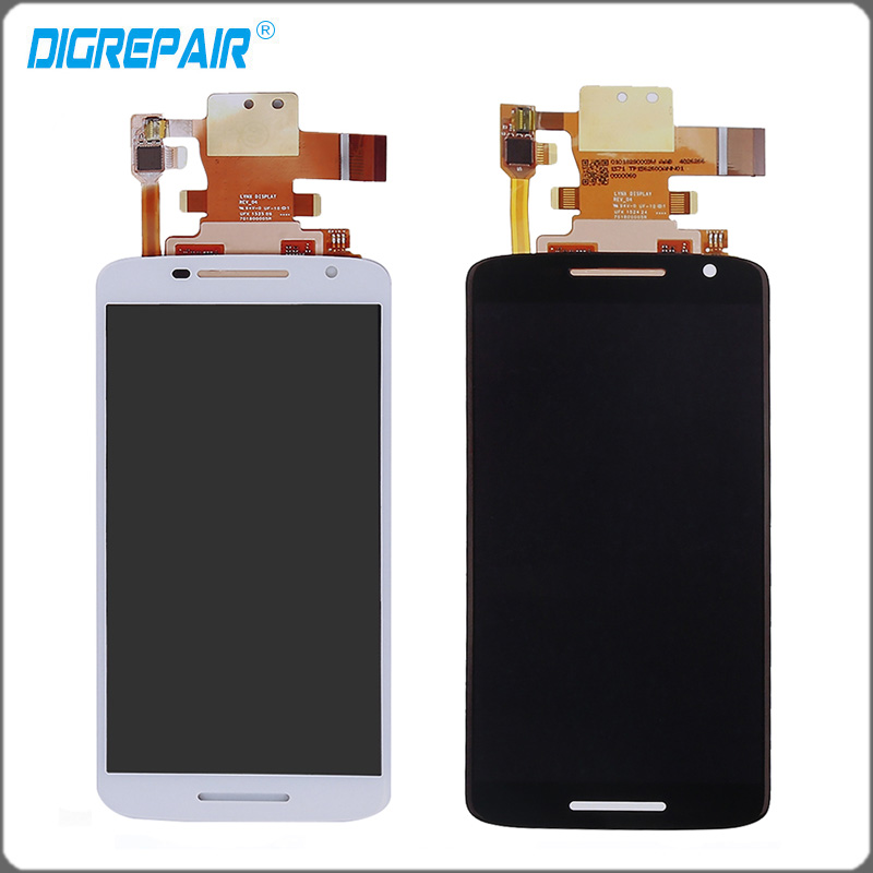 imágenes para 5.5 ''pulgadas Negro Blanco Para Motorola Moto X Jugar XT1561 XT1562 Pantalla LCD de Pantalla Táctil con la Asamblea Del Digitizador, envío gratis