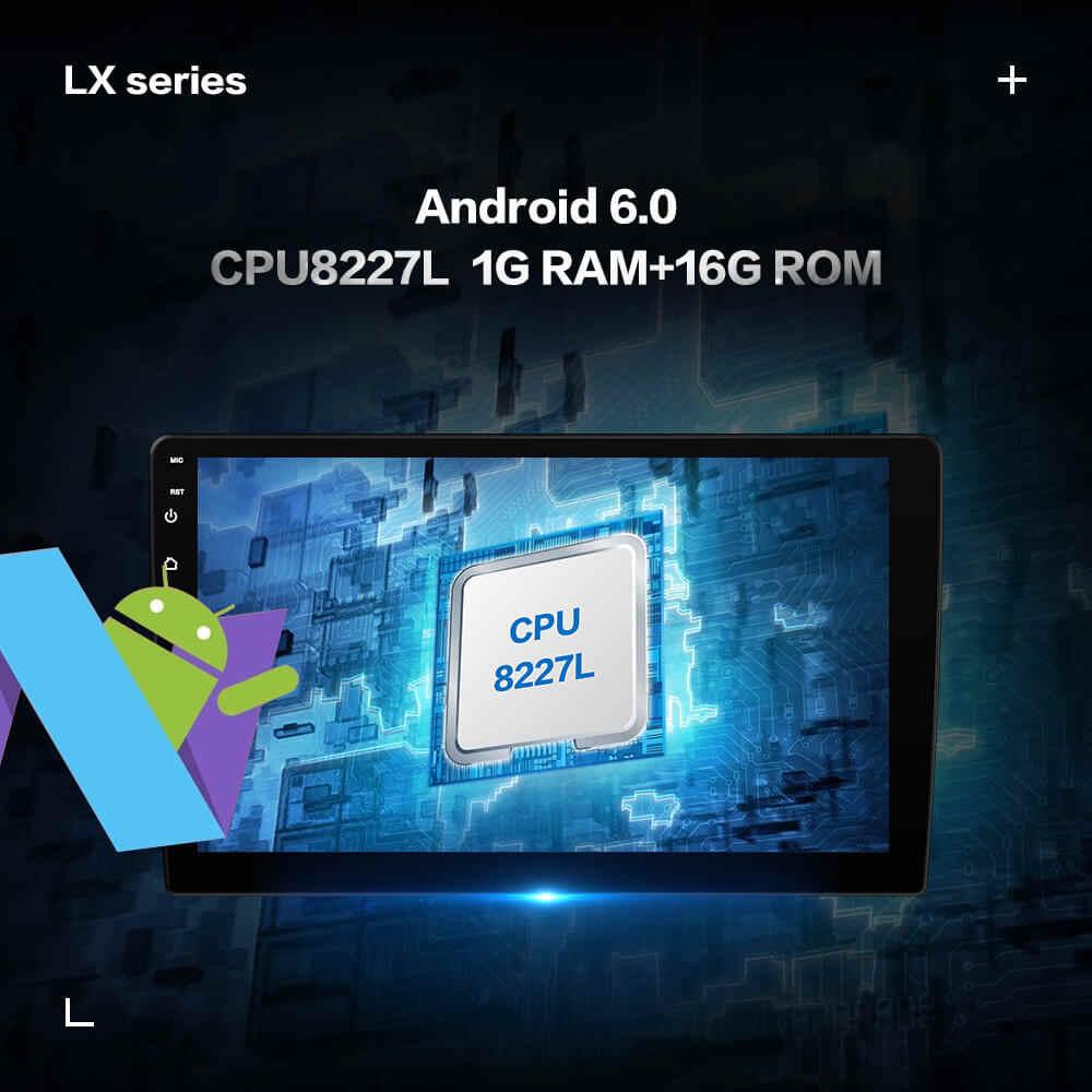 Prelingcar Android 9.0 için Hyundai Santa Fe 2 2006-2012 araba radyo multimedya Video oynatıcı GPS navigasyon hiçbir DVD 2 Din Octa çekirdekli