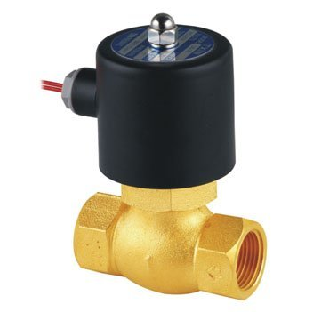 Free Shipping 5pcs In Lot 1'' N/C High Temperature PTFE Guide Steam Valve Brass US-25  2L200-25