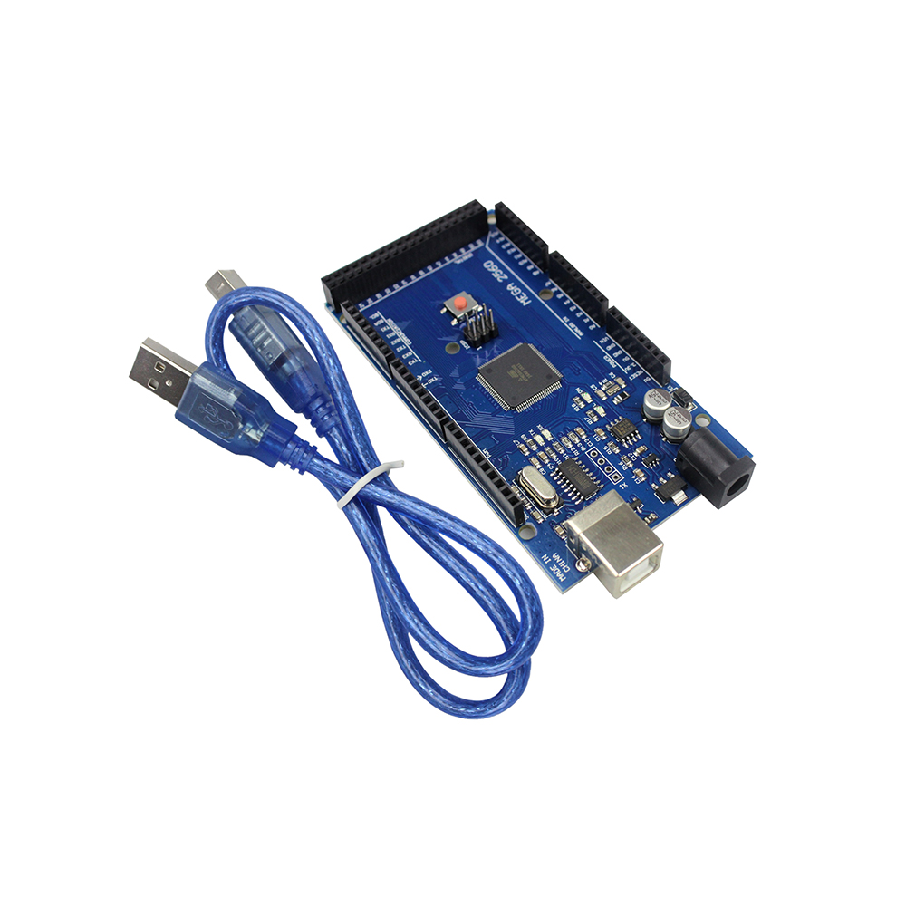 Free Shipping MEGA 2560 R3 ATmega2560 AVR USB Board USB Cable ATMEGA2560 For Arduino 2560