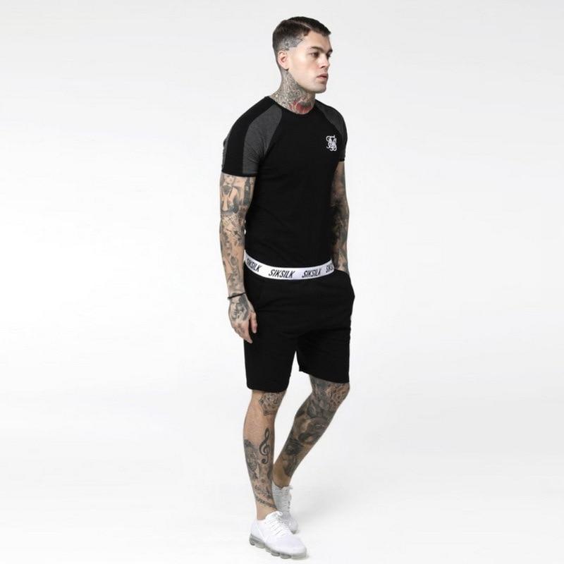 High Quality Summer Men Shorts Casual Streetwear Elastic Waist Pocket Loose Gym Clothing Sweatpants Breathable Cotton Shorts