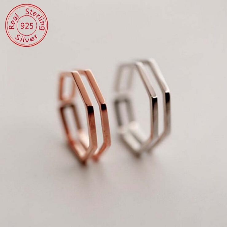 b23bc4f60dfb Nueva Promoción 925 de plata esterlina boda Joyería fina moda exquisita  vendimia Sets apertura Anillos para las mujeres Anelli c213