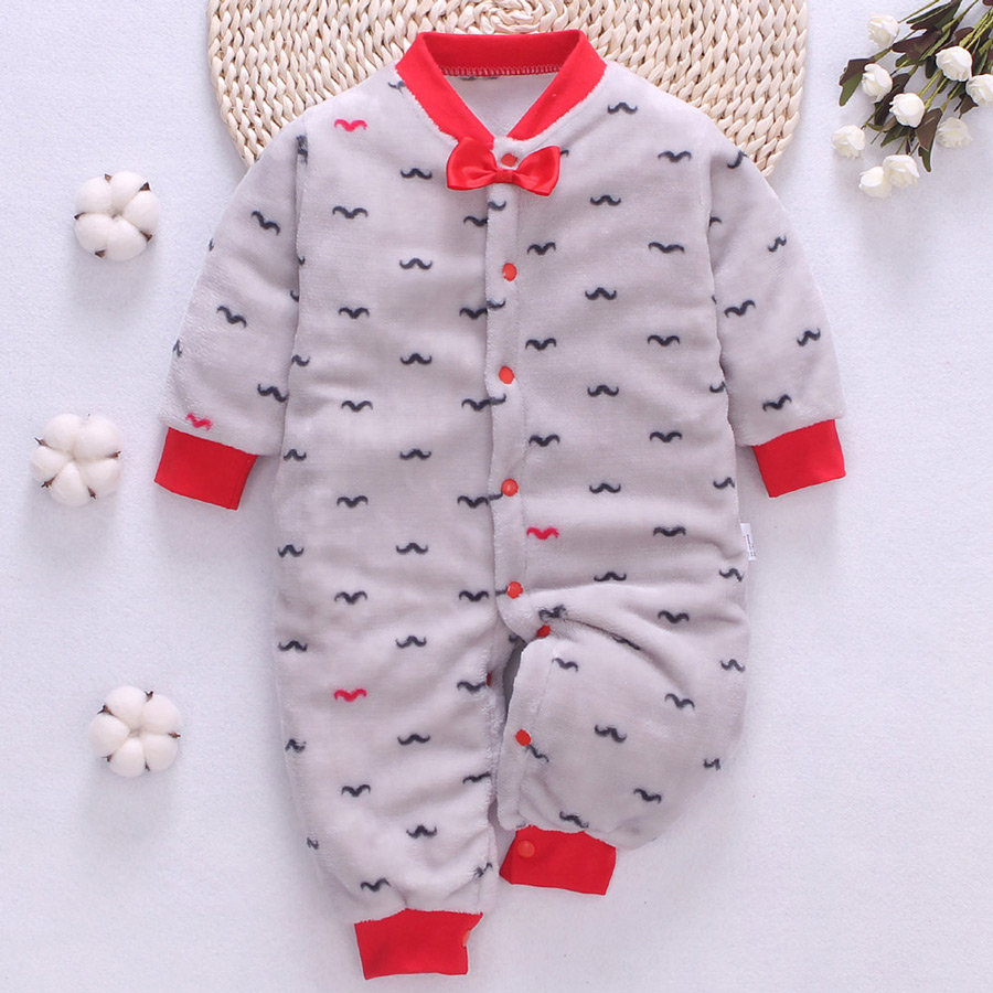 HTB1K7 3alCw3KVjSZR0q6zcUpXav winter fleece baby rompers long sleeve newborn coat jumpsuit baby clothes boy girl clothing soft infant new born warm rompers