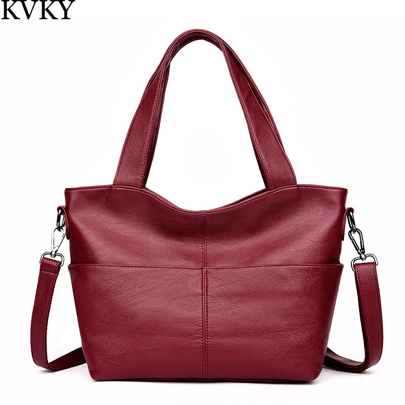 Fashion Women Messenger bag Bag Ladies PU Leather Handbags Casual Tote Bag Big Shoulder Crossbody Bags Sac a Main women handbag shoulder bag messenger bag casual colorful canvas crossbody bags for girl student waterproof nylon laptop tote