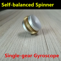 Selfbalancing GYRO Single Alloy Gear Fidget Spinner Self Balanced Gyroscope Hand Spinner Finger Rotate Spiner Spinning