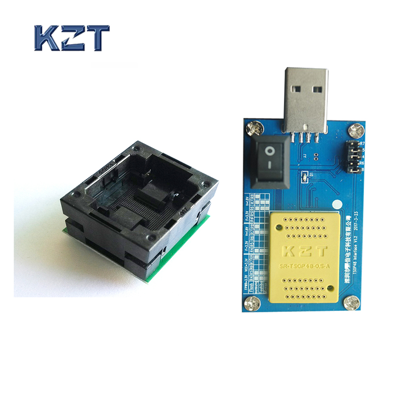 BGA152 to DIP48 Adapter Open Top IC Test Socket IC body size 14*18mm with Alcor AU6989SN SSD Chips Flash Cleaner Flash Good Bad BGA152 to DIP48 Adapter Open Top IC Test Socket IC body size 14*18mm with Alcor AU6989SN SSD Chips Flash Cleaner Flash Good Bad