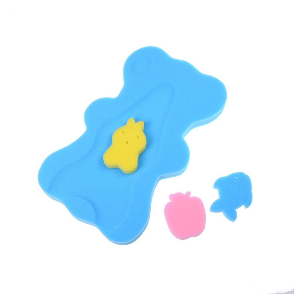 1 pcs Cartoon Antibacterial Sponge Foan Baby Bath Mat Anti Skid Bath ...