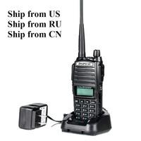 Ship from US RU two way radio 8W ANYSECU UV 82 8W 136 174 400 520MHz