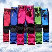 2018 Wholesale Men Women Winter Waterproof Windproof Fleece Keep Warm Outdoor Sports Ski Pants Trousers Working Safety Wear