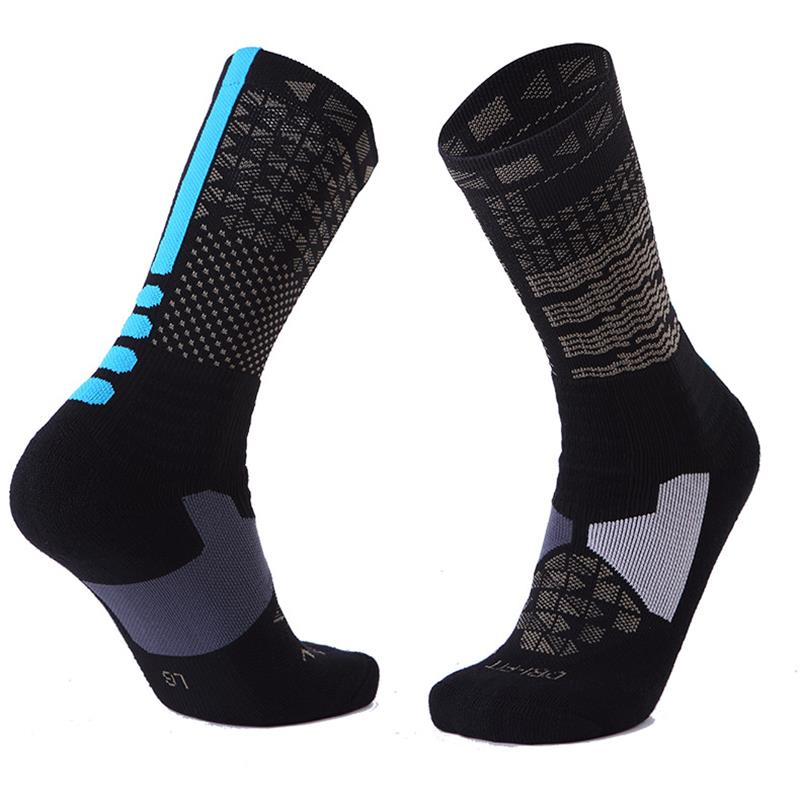 Men Cotton Cycling Socks for Outdoor Sports Sweat Breathable Running Basketball Sock Bicycles Ride Bike Sock Hunting Socks