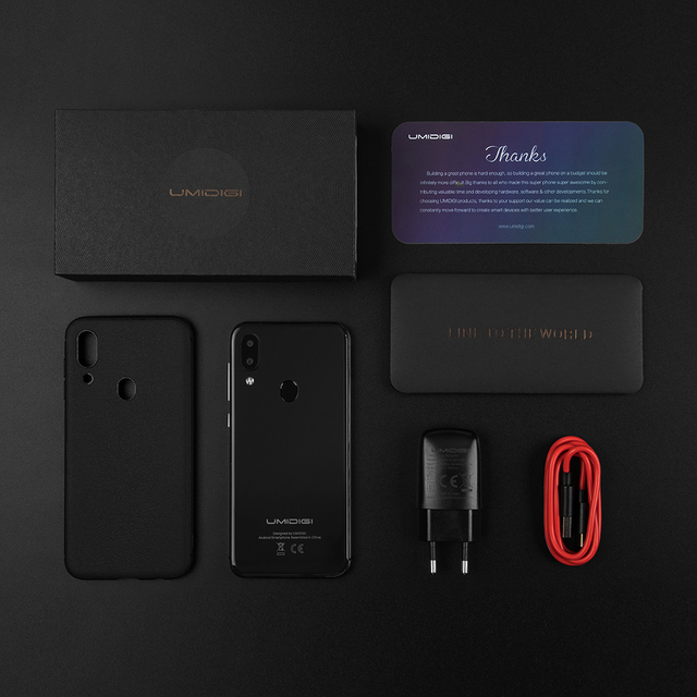 "UMIDIGI A3 Android 9.0 Global Band 5.5""incell HD+display 2GB+16GB smartphone Quad core 12MP+5MP Face Unlock Dual 4G Mobile phone 5"