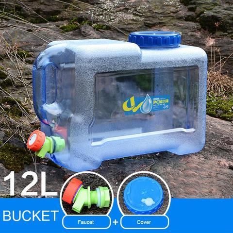 mounchain ao ar livre 12 18 l engrossar saco de agua de plastico tanque portatil
