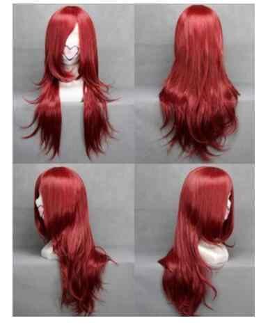 Yu # Pilih Gaya dan Warna Yshun Hot Menjual Baru-Fashion Wig Panjang Rambut Ikal Bergelombang Wanita Cosplay Penuh wig