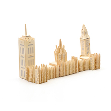 3D Wooden Jigsaw Puzzle Children's Three-dimensional Mosaic Building Model Wooden DIY Hand-assembled Adult Puzzle Big Ben