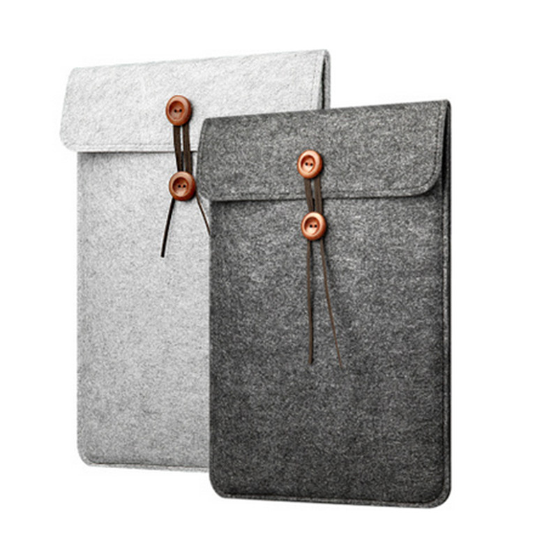 Wool Felt Laptop Sleeve Bag for Funda Macbook Air Pro Retina 11 12 13 15 Notebook Cover Case for Xiaomi Pro 15.6 Huawei Lenovo|laptop case|laptop baglaptop case cover - AliExpress