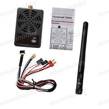 Boscam TS 5832 TS5832 2000mW 5 8G Wireless FPV Transmitter Free Shipping With Tracking