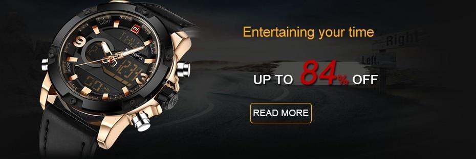 58e45978b49b6   High Model Luxurious NAVIFORCE Males Sports activities Watches Males's Military Navy Leather-based Quartz Watch Male Waterproof Clock Relogio Masculino HTB1K7bYatLO8KJjSZFxq6yGEVXav