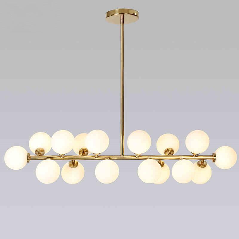 Modern Pendant Lights Magic bean DNA Lamp Globe Glass Ball Lampshade pendant lamp Hanging lamp lighting Fixtures