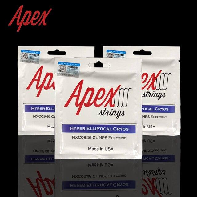 Apex Hyper Elliptical Cryos Nxc Series Electric Guitar Strings Set