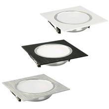 Светодиодный потолочный светильник квадратной формы 3 Вт 5 Вт 7 Вт 9 Вт 12 Вт светодиодный потолочный светильник для кухни/дома/офиса/гостиной Внутреннее освещение AC220V