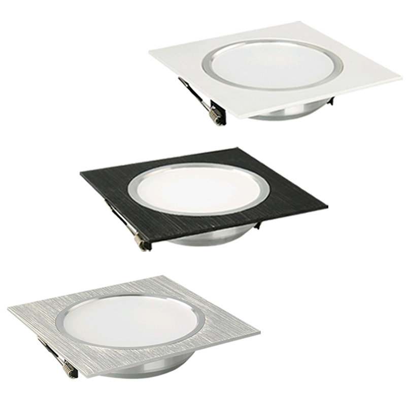 LED Downlight Square Recessed Lights 3W 5W 7W 9W 12W LED Ceiling Lamp For Kitchen/Home/Office/Living Room Indoor Lighting AC220V