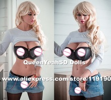 2017 NEW 170cm silicone real sex doll, vagina real pussy adult doll, full size love dolls for men, oral sexy toys