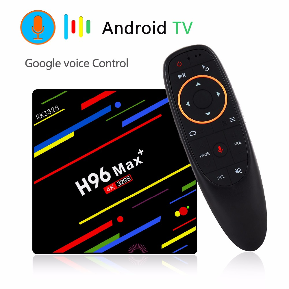 H96 MAX Hexa Core Android 7 RK3399 4//32G TV box Dual Wifi KD17.6 Media Player US