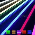 Toika 25 pçs/lote 3ft 15 W 900 MM T8 LED Tubo de Luz de Alto brilho Epistar 0.9 m vermelho verde azul tubo colorido 25LM/PC AC85-265V