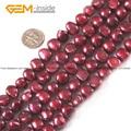Perla de Los Granos redondos 9mm-10mm de Color Rosa y Rojo Ronda Joya Perlas Naturales Perlas de Agua Dulce Strand 15 Pulgadas de La Joyería Diy