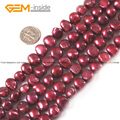 Round Pearl Beads 9mm-10mm Pink & Red Round Pearls Gem Natural Freshwater Pearl Beads Strand 15 Inch Diy Jewelry