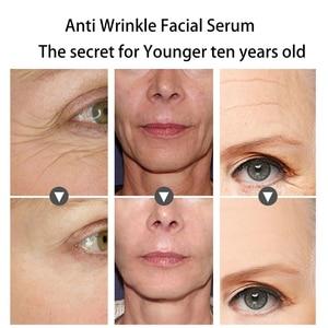 Image 3 - Fonce tipo de reparo anti rugas máscara facial de seda hidratante levantamento firmando rosto seis peptides anti envelhecimento folha máscara 10 piece