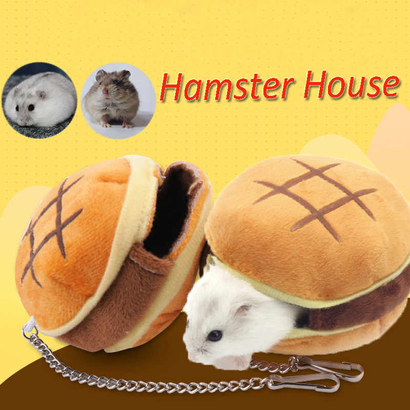 Detail Feedback Questions About Hamster Hamburger Bed Pet Sleeping