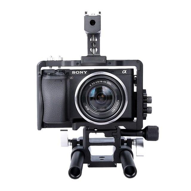 Handheld Dslr Camera Cage Stabilizer Video Camera Steadicam