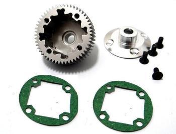 Hot Racing związane SC10 2wd B4 T4 SC10B aluminium mechanizm różnicowy SCT38XH