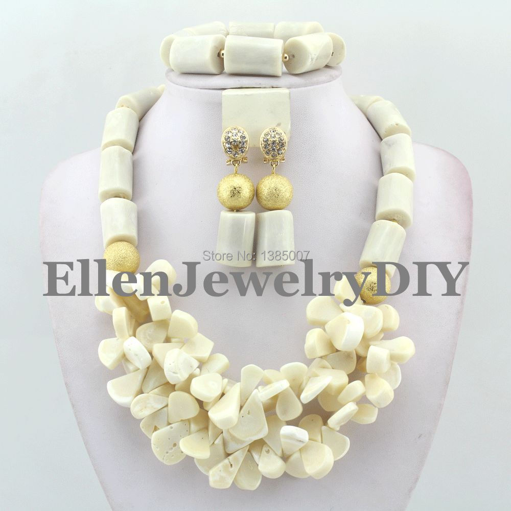 White African Coral Jewelry Sets Coral Beads Necklace Set Nigerian African Wedding Beads Jewelry Sets W7901 стоимость