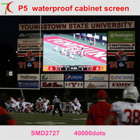 widely used in stages, sports events.outdoor advertisement ,shopping signs P5 smd waterproof caibnet led display screen