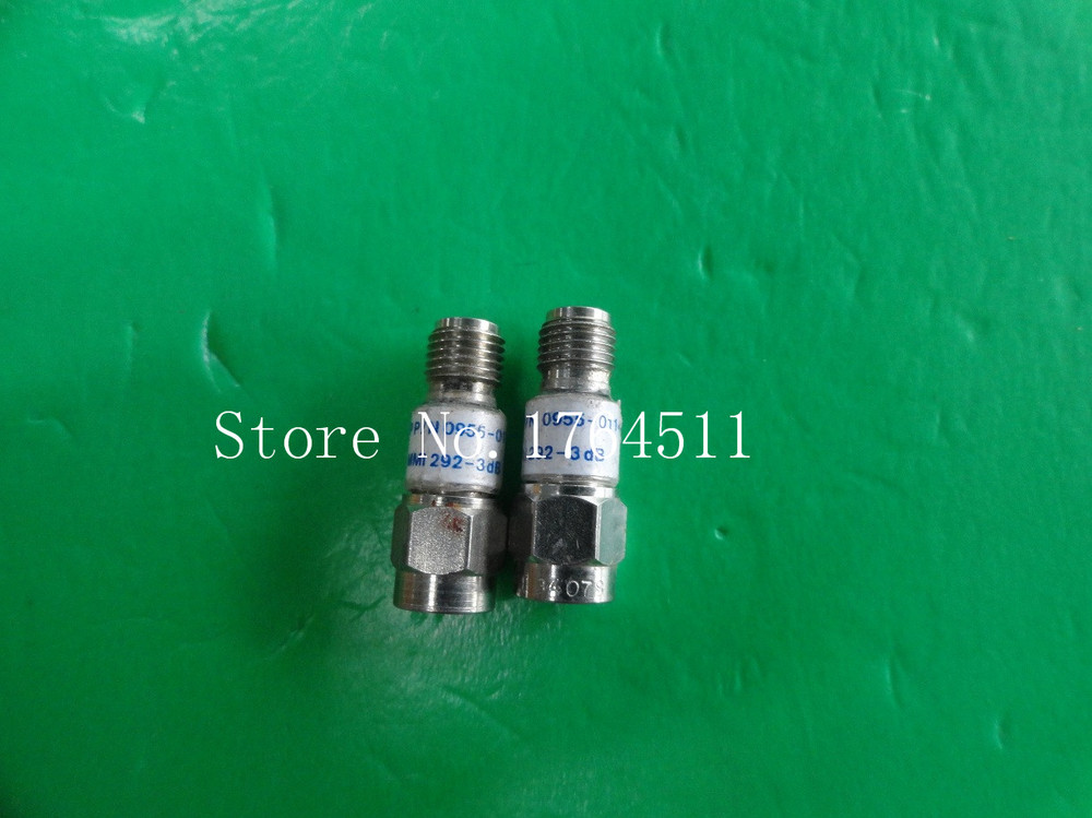 [BELLA] MIDWEST 292-3dB DC-8GHz 3dB 2W SMA Coaxial Fixed Attenuator  --5PCS/LOT